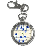 music_notes_2 Key Chain Watch