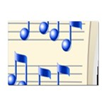 music_notes_2 Sticker (A4)