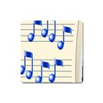 music_notes_2 Magnet (Square)