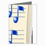 music_notes_2 Greeting Cards (Pkg of 8)