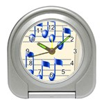 music_notes_2 Travel Alarm Clock