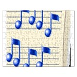music_notes_2 Jigsaw Puzzle (Rectangular)