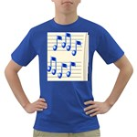 music_notes_2 Dark T-Shirt