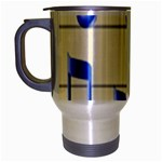 music_notes_2 Travel Mug (Silver Gray)
