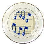 music_notes_2 Porcelain Plate
