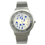 music_notes_2 Stainless Steel Watch