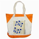music_notes_2 Accent Tote Bag
