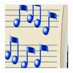 music_notes_2 Glasses Cloth (Medium)