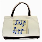 music_notes_2 Classic Tote Bag (Two Sides)