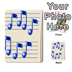 music_notes_2 Multi-purpose Cards (Rectangle)