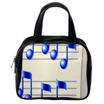 music_notes_2 Classic Handbag (One Side)