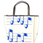 music_notes_2 Bucket Bag