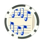 music_notes_2 Poker Chip Card Guard (10 pack)
