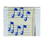 music_notes_2 Cosmetic Bag (XL)