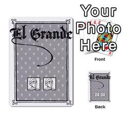 El Grande By Daniel San Miguel Cuadrado   Multi Purpose Cards (rectangle)   Scyrrz96gyyp   Www Artscow Com Back 18