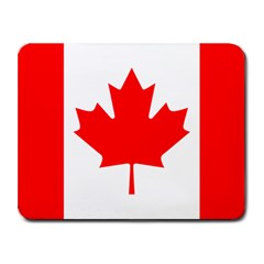 Flag-Canada Small Mousepad by interestzone