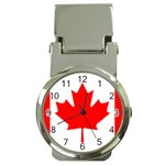 Flag-Canada Money Clip Watch