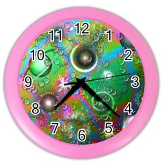 Funky Color Wall Clock by MaeAmeDesigns