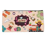 pencil 1-i love - Pencil Case