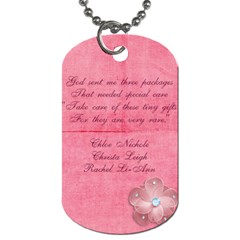 Dog Tag By Vivian   Dog Tag (two Sides)   Drsir42bbgao   Www Artscow Com Back