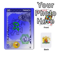 Uk Pounds (dark) By Joel Kinzie   Playing Cards 54 Designs   Cnawege0qcms   Www Artscow Com Front - Club2