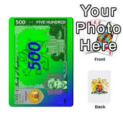 Ace Uk Pounds (dark) By Joel Kinzie   Playing Cards 54 Designs   Cnawege0qcms   Www Artscow Com Front - ClubA