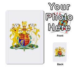 Uk Pounds (dark) By Joel Kinzie   Playing Cards 54 Designs   Cnawege0qcms   Www Artscow Com Back