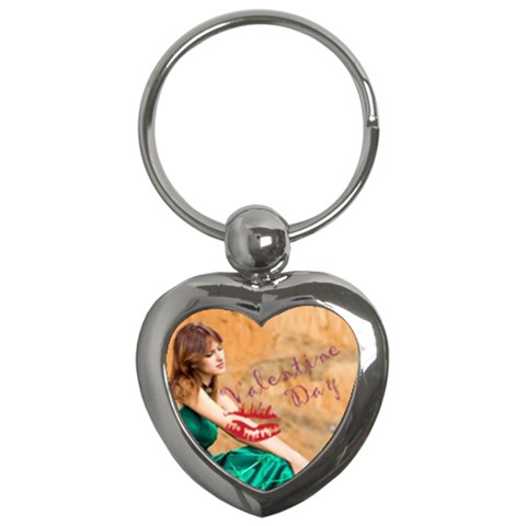 Love Kiss By Wood Johnson   Key Chain (heart)   T0r0jvewmyy9   Www Artscow Com Front