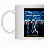 Extrovert CD Cover Design  White Mug