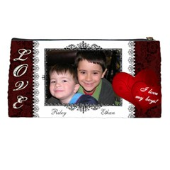 Pencil Case   I Love My Boys By Dianne Nicholls   Pencil Case   Cthaifqfhqfc   Www Artscow Com Back