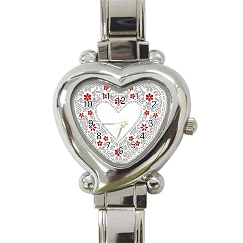 Heart Watching By Wood Johnson   Heart Italian Charm Watch   Mhce0ip95g3u   Www Artscow Com Front