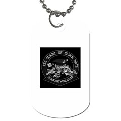 The School of Black Hats -  Dog Tag (One Side) by BlackHatWorld