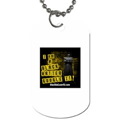 I Am A Black Hatter -  Dog Tag (Two Sides) by BlackHatWorld