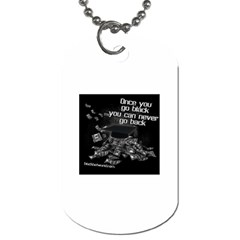 Once You Go Black 3 -  Dog Tag (One Side) by BlackHatWorld