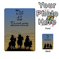D6 Shooters Deck By David Finberg   Playing Cards 54 Designs   Deymdysnyhrr   Www Artscow Com Back