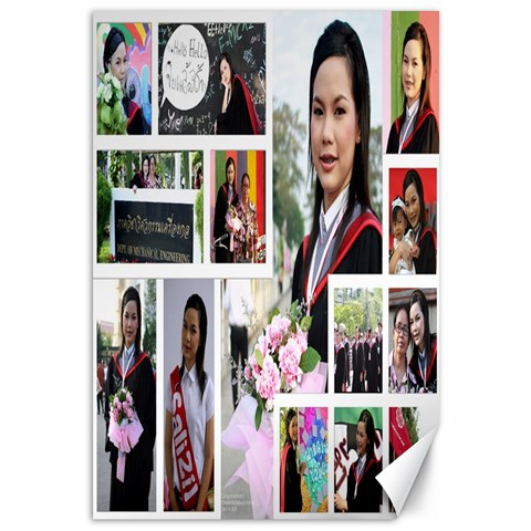 Congratulations by Nattapat 18 x12 Canvas - 1