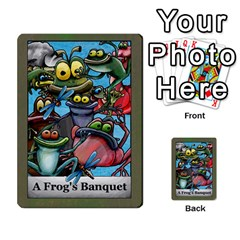 A Frog s Banquet Prototype By Ben Boersma   Playing Cards 54 Designs (rectangle)   Oetf3som4kfe   Www Artscow Com Back