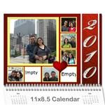 Calender 2010 - Wall Calendar 11  x 8.5  (12-Months)
