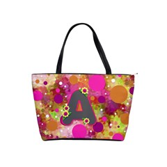 Retro Polka Dot Purse With A By Bonnie Cheshier   Classic Shoulder Handbag   29ktbpuhxm7m   Www Artscow Com Front