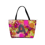 Retro Polka Dot Purse with A - Classic Shoulder Handbag