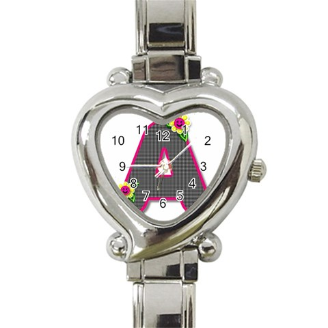 Personalized watch by Bonnie Cheshier Front