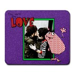 valentine s day!!! - Large Mousepad