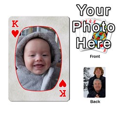King Huwelijk By Arielle   Playing Cards 54 Designs   3bei5h0hmwru   Www Artscow Com Front - HeartK
