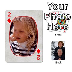 Huwelijk By Arielle   Playing Cards 54 Designs   3bei5h0hmwru   Www Artscow Com Front - Diamond2