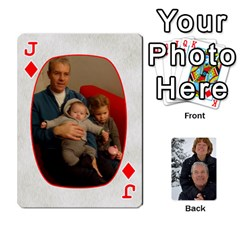 Jack Huwelijk By Arielle   Playing Cards 54 Designs   3bei5h0hmwru   Www Artscow Com Front - DiamondJ