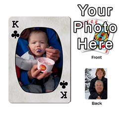 King Huwelijk By Arielle   Playing Cards 54 Designs   3bei5h0hmwru   Www Artscow Com Front - ClubK
