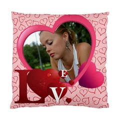 Love Case By Wood Johnson   Standard Cushion Case (two Sides)   1sphdabg8yt3   Www Artscow Com Front