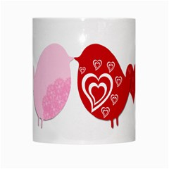 Love Birds By Gina   White Mug   Jpcl5cw947ik   Www Artscow Com Center