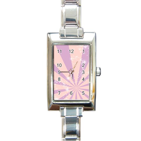 Valentines Gift Watch By Gina   Rectangle Italian Charm Watch   7g3yf5ddmsr8   Www Artscow Com Front
