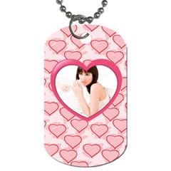 Love By Wood Johnson   Dog Tag (two Sides)   Otfnc9m4mh0c   Www Artscow Com Back